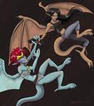 Elisa and Demona