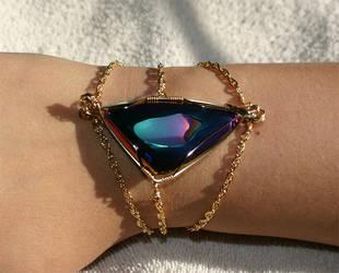 Melody's Bracelet by amazonite