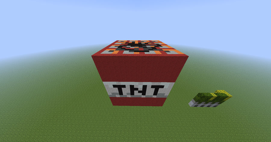 how to make a tnt block in minecraft