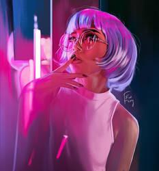 Neons by ewenubcake