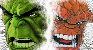 Hulk and Thing