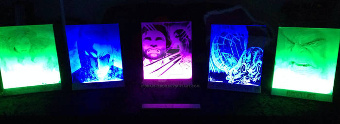 GraphixRob Illuminated Glass Art