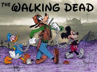 Walking Dead buddies by GraphixRob