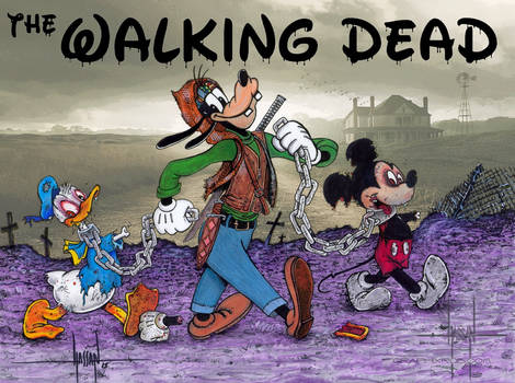 Walking Dead buddies