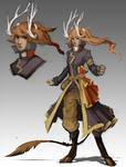 Character Design - Faun Pirate
