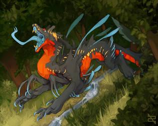 Illustration - On the Hunt by ArtByZephra
