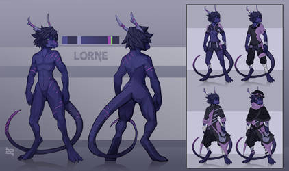 Custom Reference - Lorne by ArtByZephra