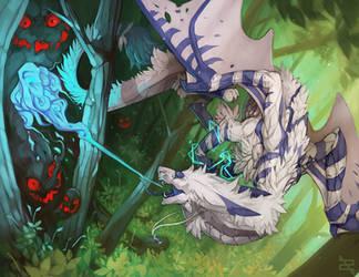 Illustration - Neolykos (+video) by ArtByZephra