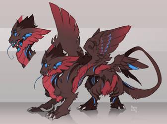 Creature Adoptable - Seraphim by ArtByZephra