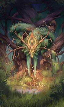 Radiant Scale Dragon Tarot - The Empress