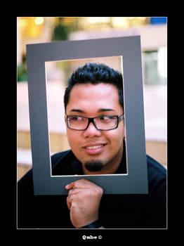 Framed you.