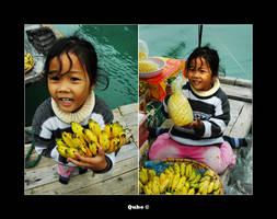 Lil fruit girl by blush-ed