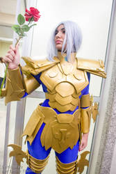 Albafica - Saint Seiya Lost Canvas - Sana 2015 by setcosplay