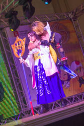 Tidus and Yuna - Final Fantasy X - Sana 2015 by setcosplay