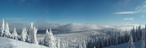 Sun Peaks Panorama by AlphaAlec