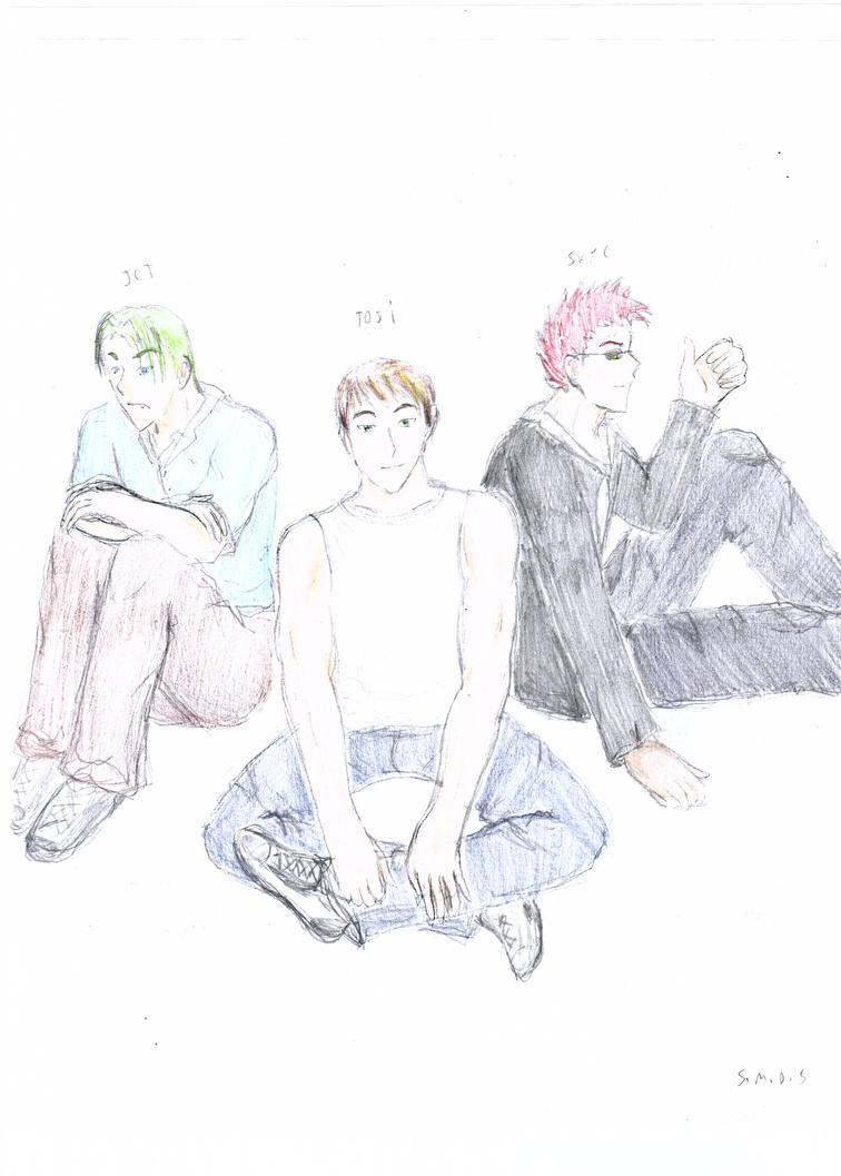 Male OC's by SmokeyBear93