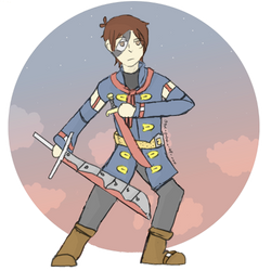 Vyse - Skies of Arcadia by SilverWolfyChaos