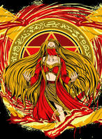 Fire Wizard by tonisuka