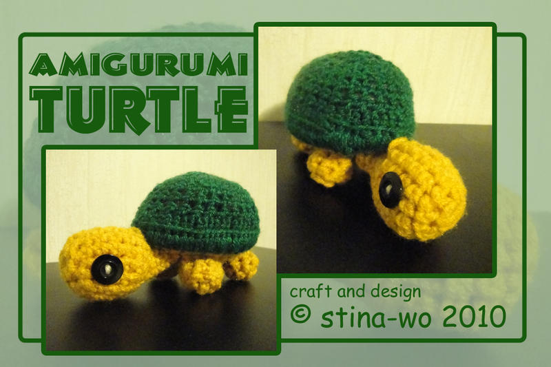 Amigurumi Turtle : Toytle amigurumi turtle by stina marie on deviantart