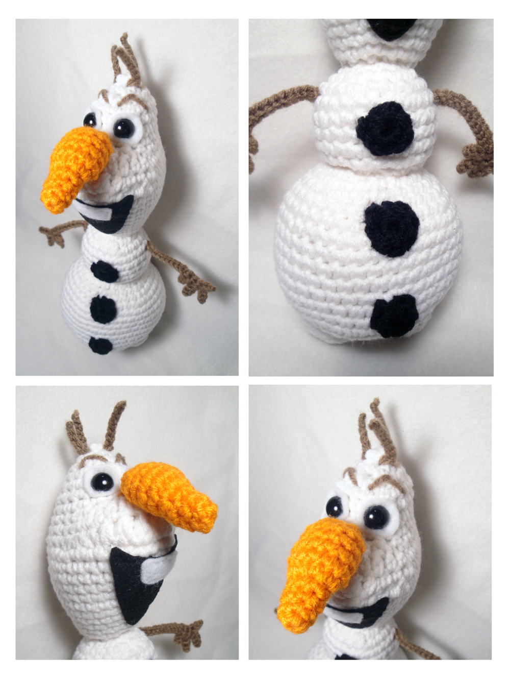 Crochet Free Pattern Olaf : Olaf - Amigurumi :: Frozen by stina-marie on DeviantArt
