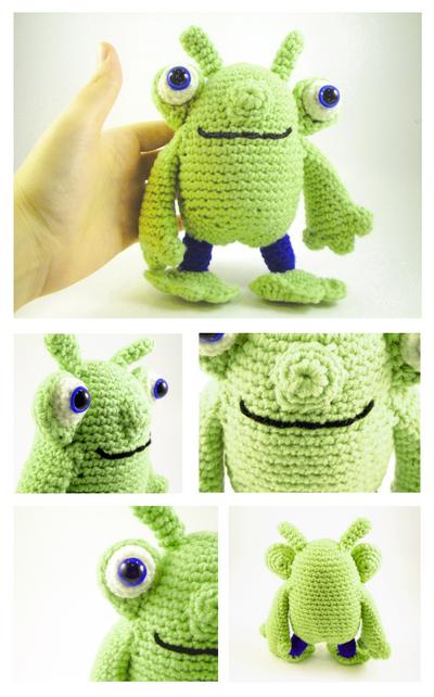 Friendly Alien Amigurumi by stina-marie on DeviantArt
