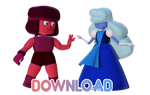 MMD Ruby And Sapphire (Download)