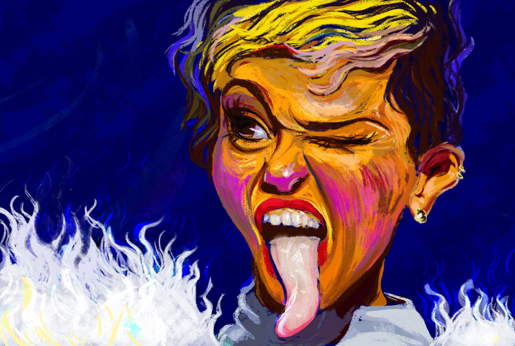 Miley cyrus by Kapote