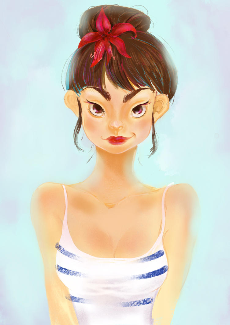 Girl by Kapote