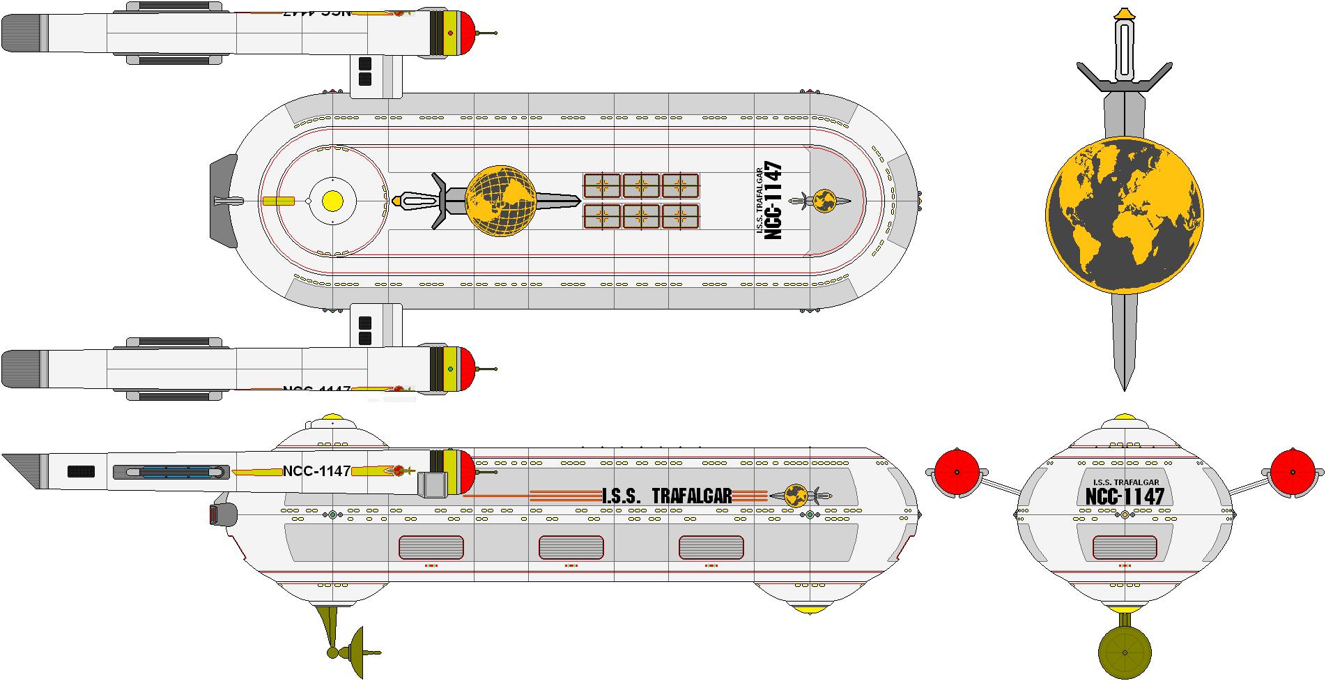 ISS Trafalgar by SciFiRocker