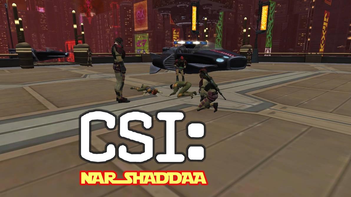 CSI Nar Shaddaa