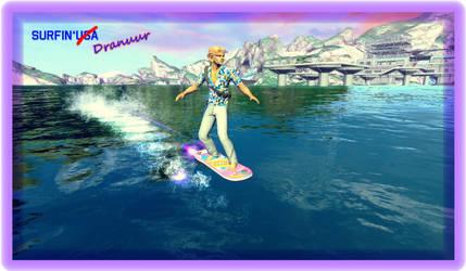Surfin'Dranuur by SciFiRocker