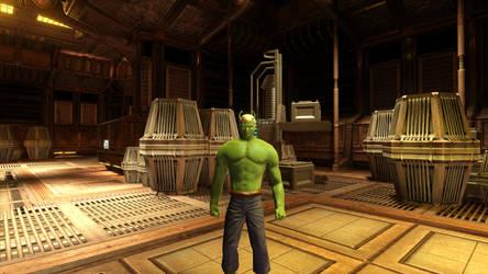 The andorian Hulk