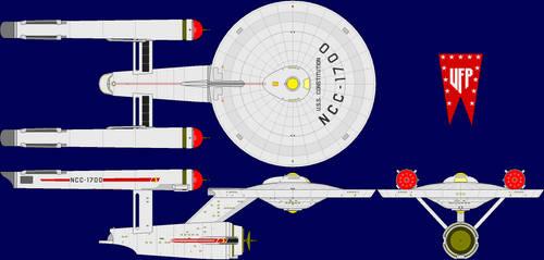 USS Constitution NCC-1700