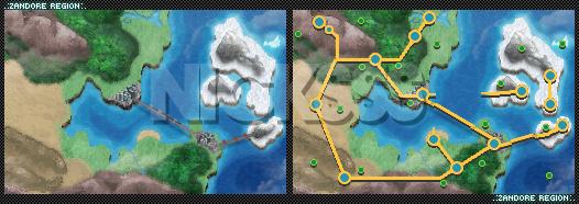 Zandore World Map BW Style by NickSSstruck