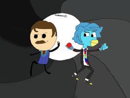 Bond... News Bond! by Fredbearcorn25