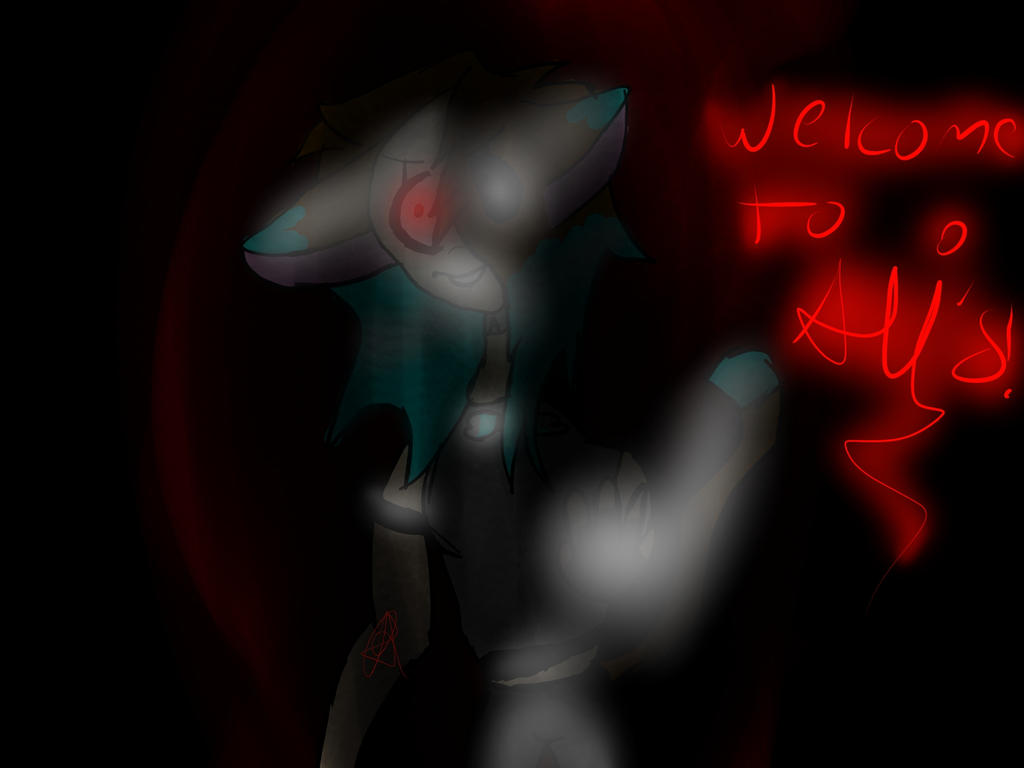Five nights at Ali's (fnaf oc) by Aliderp123