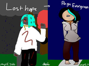 Lost Hope Redraw (turning old oc's into new oc's)