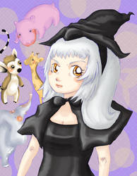 Witch princess by chihoriko