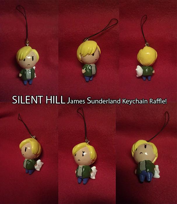 Silent Hill - James Sunderland Keychain Raffle by koisnake