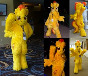 MLP Spit Fire Mascot Commission
