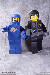 Lego Movie Benny Cosplay and Bad Cop