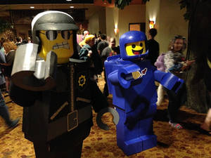 Benny Cosplay and Bad Cop Lego Movie