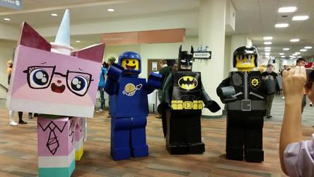 Lego Movie at Matsuricon