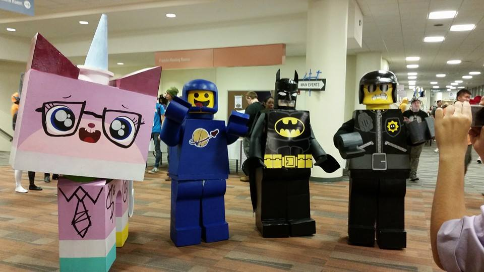 Lego Movie at Matsuricon by koisnake