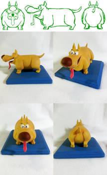 Dog Maquette