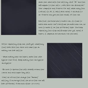 Rainy Day Tutorial by koisnake