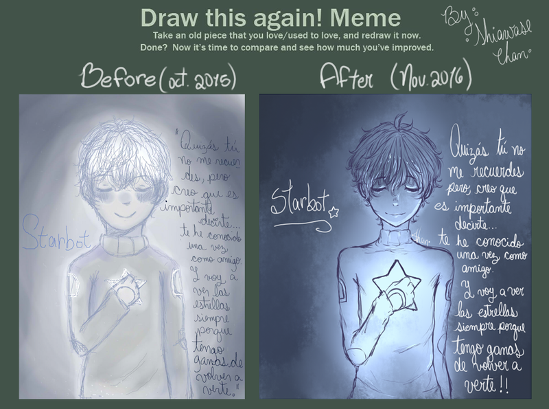 ~ Starbot Redrawing ~ by SugarColdBeans9