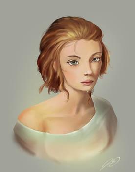 Portrait Painting Practice1