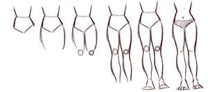 Leg tutorial by xMEDIUMx