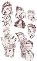 Iz Doodles by xMEDIUMx